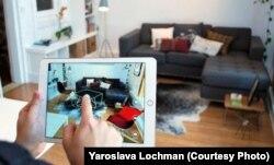 Візуалізація прикладів, де можна використовувати алгоритми – Augmented Reality
