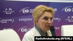 Колишня міністр охорони здоров'я Раїса Богатирьова, Київ, 3 травня 2013 року (архівне фото)