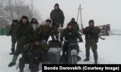 """Ополченцы в """"Имперском легионе"""". Бондо Доровских – на мотоцикле"""