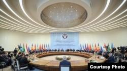 КМШнын өкмөт башчыларынын жыйыны. Ташкент, 3-ноябрь, 2017-жыл.