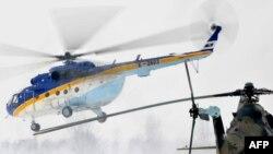 Helikopter kreće u pomoć područjima pogođenim jakim snježnim padavinama, februar 2012.