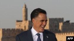 Митта Ромни в Иерусалиме