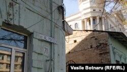 Pe str. Mateevici la Chișinău