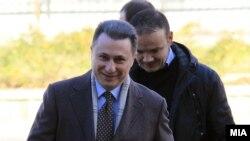 """Архива: Никола Груевски на судење за предметот """"Траекторија."""""""