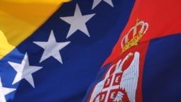 Zastava BiH i Srbije