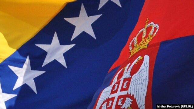 Zastave Srbije i BiH