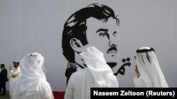 تصویری از شیخ تمیم امیر قطر