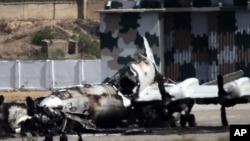 Пакистан, военная база в Карачи после боя