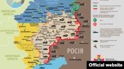 Ситуація в зоні бойових дій на Донбасі, 3 серпня 2015 року