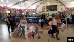 Международный аэропорт Шарм-эш-Шейха. Архивное фото