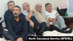 Участники голодовки