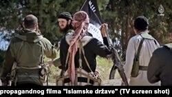 Pamje nga një video propagandistike e IS-it.