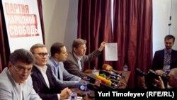 Лидеры Партии народной свободы.