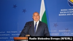 Boyko Borissov, the Prime Minister of Bulgaria