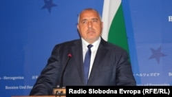 Bulgarian Prime Minister Boyko Borisov (file photo)