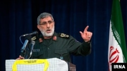 Commander of Qods Force, Esmail Ghaani (Qaani). File Photo