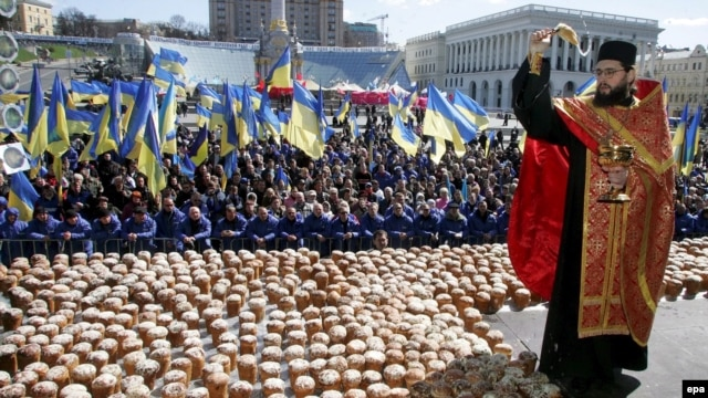 April 15: Orthodox Christians celebrate Easter.
