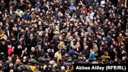 Акция протеста выселяемых жителей бывшей Советской улицы, 16 февраля 2014