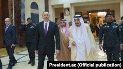 İlham Əliyev Səudiyyə Kralı Salman Bin Abdulaziz Al Saud ilə də görüşüb