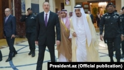 İ.Əliyev və Kral Salman