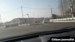 36-й дорожно-патрульный пост при въезде из Алтынкульского района в городе Андижан полностью ликвидирован.