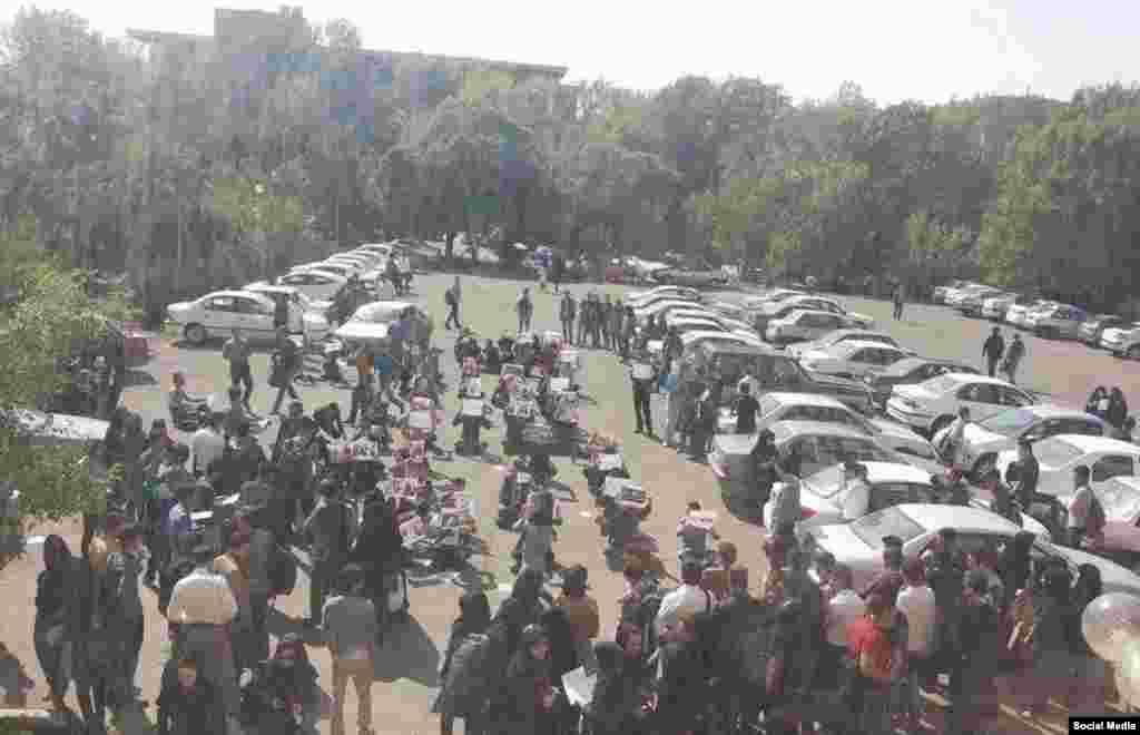 تظاهرات حمایت از کوبانی در تبریز