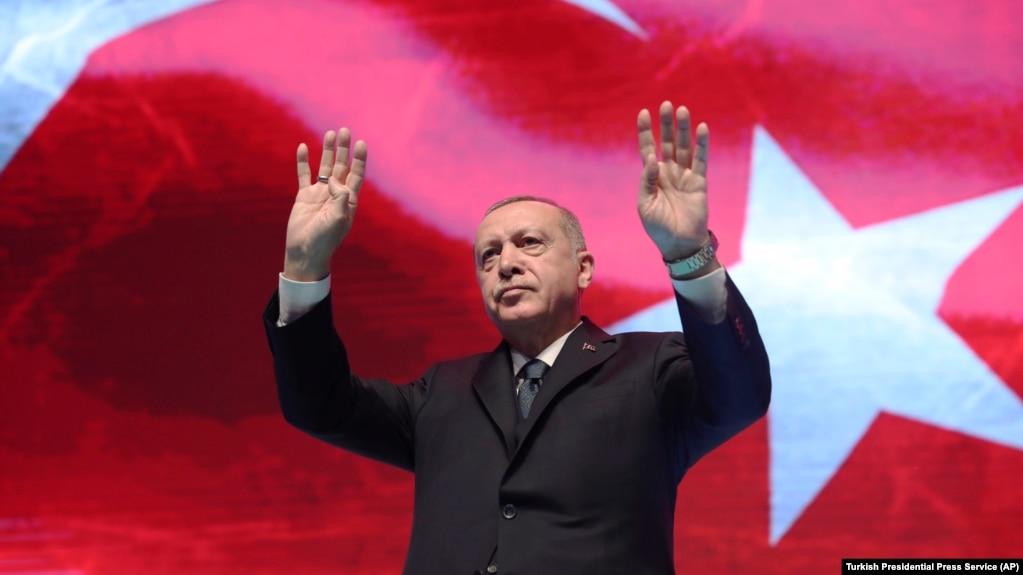 Presidenti i Turqisë, Recep Tayyip Erdogan. Fotografi nga arkivi.