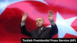 Turski predsjednik Recep Tayyip Erdogan, mart 2020.