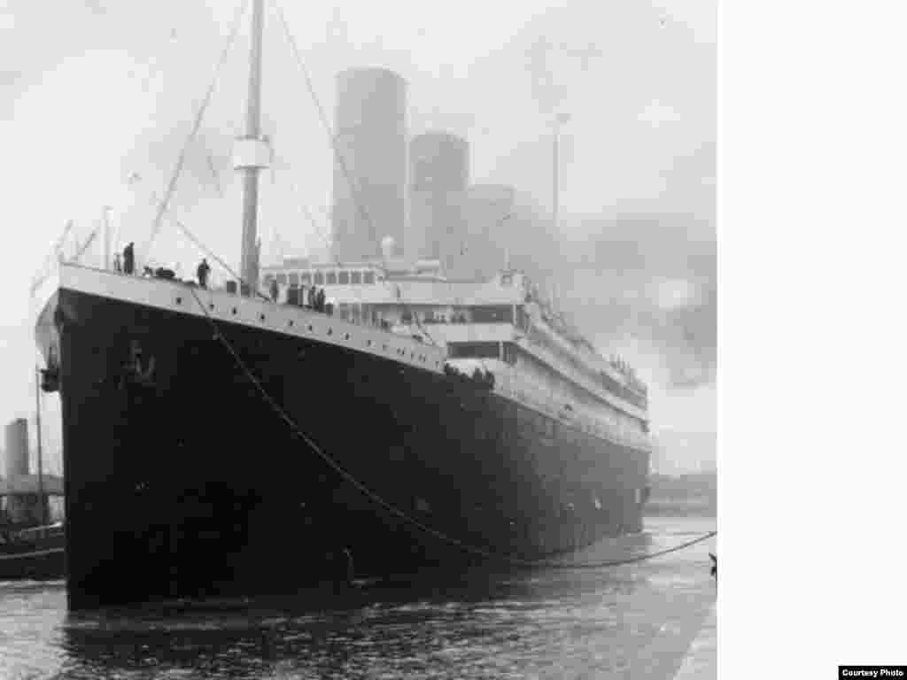 "More than 1,500 of the 2,224 people aboard died when the ""Titanic"" sank in the North Atlantic after hitting an iceberg. An insufficient number of lifeboats meant that only one-third of the passengers could be accommodated."