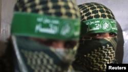 دو نفر از اعضای حماس در غزه