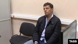 Роман Сущенко після затримання