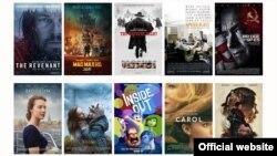 پوسترهای ده فیلم مهم سال ۲۰۱۵