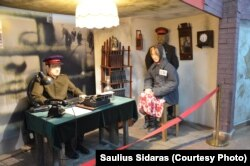 В Музее жертв политических репрессий. Село Долинка, Карагандинская область.