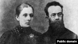 Марія та Михайло Грушевський у рік одруження