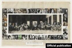 Коллективный портрет современных художниц, или Some Living American Women Artists от Мэри Бэт Эдельсон (1972)