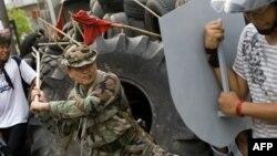 Tajlandë - Policia tajlandeze në aksion për të shpërndarë protestuesit (Ilustrim)