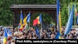 Conflict între români și maghiari pentru cimitirul din Valea Uzului