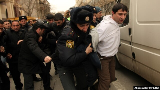 Police moved quickly when youth activists organized a protest in March 2011 via Facebook and other channels.