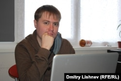 Russian opposition activist Dmitry Semenov