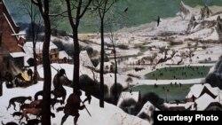 Jagers in de Sneeuw, Pieter Bruegel de Oude