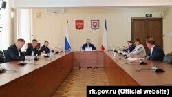 Заседание оперативного штаба по предотвращению распространения коронавируса в Крыму, Симферополь, 17 апреля 2020 года