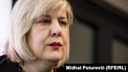 Council of Europe Commissioner for Human Rights Dunja Mijatovic (file poto)