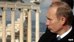 Володимир Путін в Афінах (архівне фото)