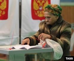 Голосование в Ульяновске на выборах в Госдуму