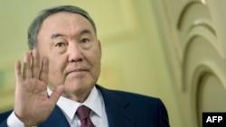 Нурсултан Назарбаев в бытность президентом Казахстана. Астана, 2015 год.