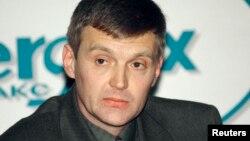 Александр Литвиненко во время пресс-конференции 17 ноября 1998