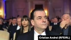 Premeirul interimar român, Ludovic Orban (foto arhivă)