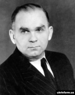 Улас Самчук. Світлина 1949 року