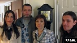 Russian writers Inga Kuznetsova, Pavel Nastin, Natalia Sannikova, Sergei Sokolovskiy (left to right) at the PEN 2010 World Voices Festival.
