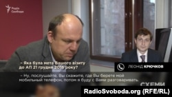 Леонід Крючков не надто охоче спілкувався телефоном з журналістом